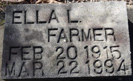 FARMER, ELLA L - Wakulla County, Florida   ELLA L FARMER - Florida Gravestone Photos
