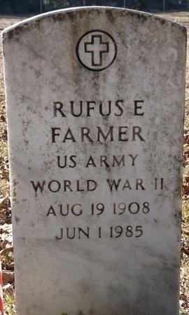 FARMER (VETERAN WWII), RUFUS E (NEW) - Wakulla County, Florida   RUFUS E (NEW) FARMER (VETERAN WWII) - Florida Gravestone Photos
