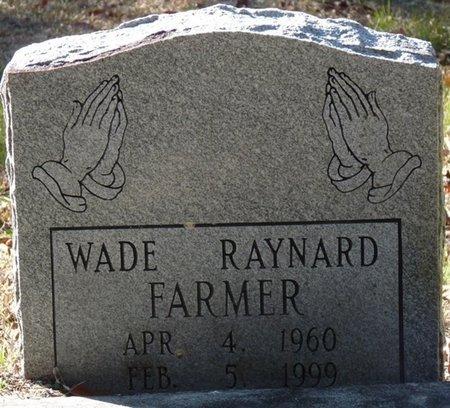 FARMER, WADE RAYNARD - Wakulla County, Florida   WADE RAYNARD FARMER - Florida Gravestone Photos