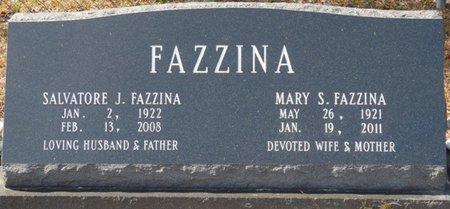 FAZZINA, MARY SALLY - Wakulla County, Florida | MARY SALLY FAZZINA - Florida Gravestone Photos