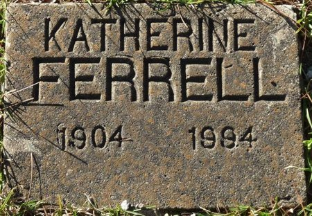 MOORE FERRELL, KATHERINE - Wakulla County, Florida | KATHERINE MOORE FERRELL - Florida Gravestone Photos