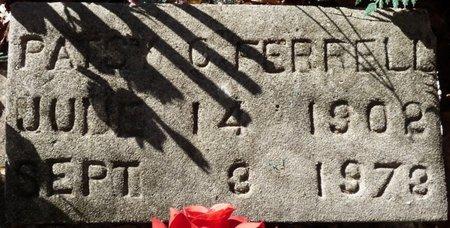 FERRELL, PATSY C - Wakulla County, Florida   PATSY C FERRELL - Florida Gravestone Photos