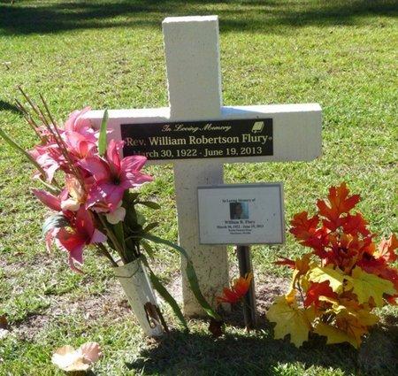 FLURY, WILLIAM ROBERTSON - Wakulla County, Florida | WILLIAM ROBERTSON FLURY - Florida Gravestone Photos