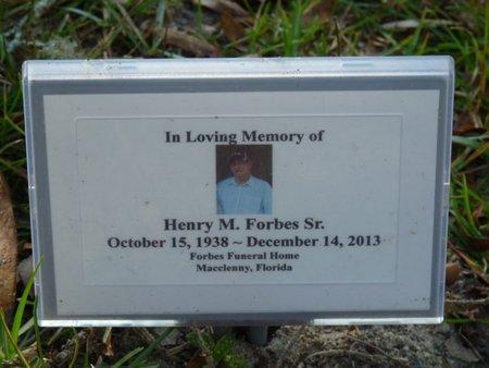 FORBES SR., HENRY MAE - Wakulla County, Florida | HENRY MAE FORBES SR. - Florida Gravestone Photos