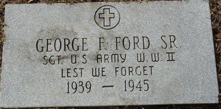 FORD SR. (VETERAN WWII), GEORGE F (NEW) - Wakulla County, Florida   GEORGE F (NEW) FORD SR. (VETERAN WWII) - Florida Gravestone Photos