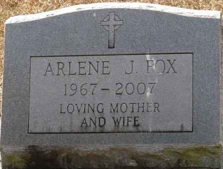 FOX, ARLENE J - Wakulla County, Florida   ARLENE J FOX - Florida Gravestone Photos