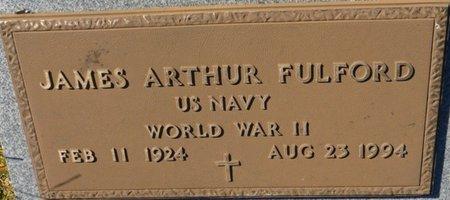FULFORD (VETERAN WWII), JAMES ARTHUR (NEW) - Wakulla County, Florida | JAMES ARTHUR (NEW) FULFORD (VETERAN WWII) - Florida Gravestone Photos