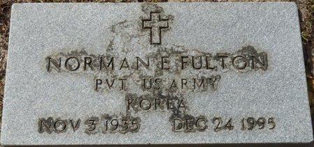 FULTON (VETERAN KOR), NORMAN E (NEW) - Wakulla County, Florida | NORMAN E (NEW) FULTON (VETERAN KOR) - Florida Gravestone Photos
