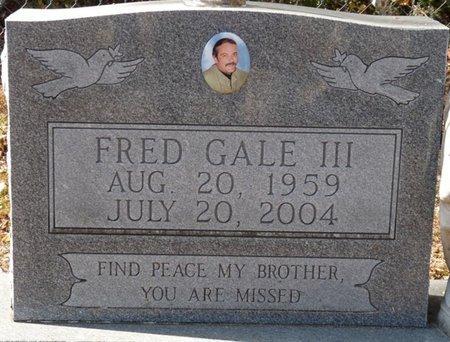GALE III, FRED - Wakulla County, Florida | FRED GALE III - Florida Gravestone Photos
