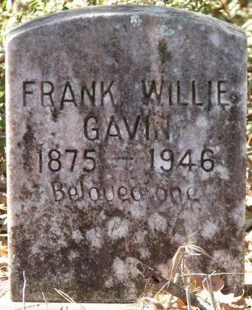 GAVIN, FRANK WILLIE - Wakulla County, Florida | FRANK WILLIE GAVIN - Florida Gravestone Photos