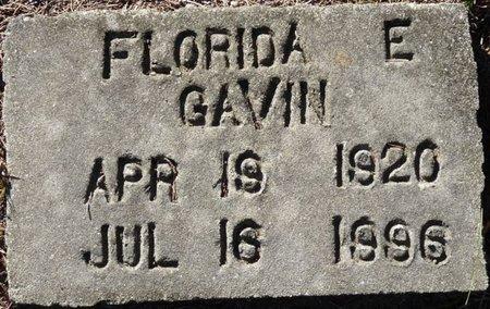 GAVIN, FLORIDA ELIZABETH - Wakulla County, Florida | FLORIDA ELIZABETH GAVIN - Florida Gravestone Photos