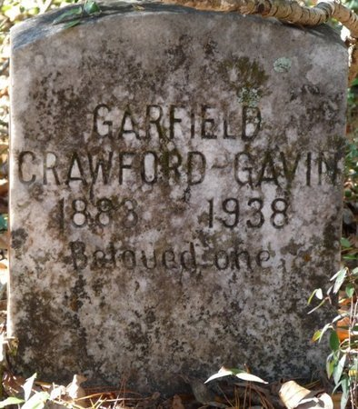 GAVIN, GARFIELD CRAWFORD - Wakulla County, Florida | GARFIELD CRAWFORD GAVIN - Florida Gravestone Photos
