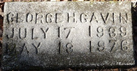 GAVIN, GEORGE H - Wakulla County, Florida | GEORGE H GAVIN - Florida Gravestone Photos