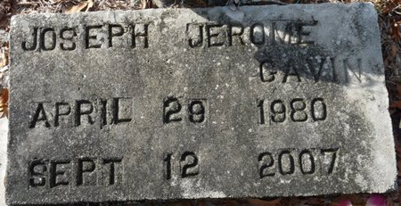 GAVIN, JOSEPH JEROME - Wakulla County, Florida | JOSEPH JEROME GAVIN - Florida Gravestone Photos