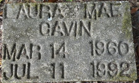 GAVIN, LAURA MAE - Wakulla County, Florida   LAURA MAE GAVIN - Florida Gravestone Photos