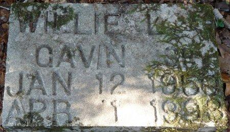 GAVIN SR., WILLIE LEE - Wakulla County, Florida   WILLIE LEE GAVIN SR. - Florida Gravestone Photos