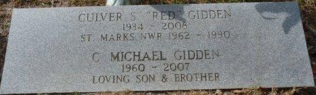 GIDDEN, CULVER MICHAEL - Wakulla County, Florida   CULVER MICHAEL GIDDEN - Florida Gravestone Photos