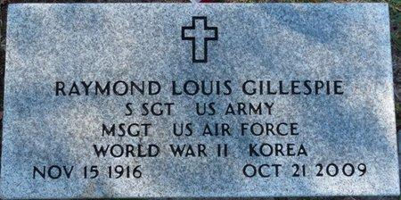 GILLESPIE (VETERAN WWII KOR), RAYMOND LOUIS  (NEW) - Wakulla County, Florida | RAYMOND LOUIS  (NEW) GILLESPIE (VETERAN WWII KOR) - Florida Gravestone Photos