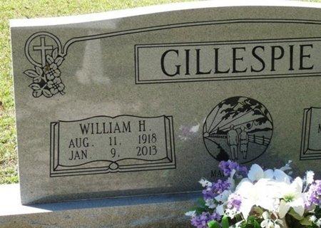 GILLESPIE, WILLIAM H - Wakulla County, Florida | WILLIAM H GILLESPIE - Florida Gravestone Photos