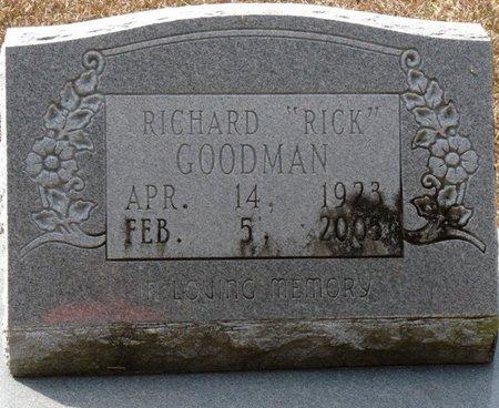 "GOODMAN, RICHARD ""RICK"" - Wakulla County, Florida | RICHARD ""RICK"" GOODMAN - Florida Gravestone Photos"