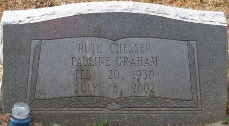 CHESSER GRAHAM, RUTH PAULINE - Wakulla County, Florida | RUTH PAULINE CHESSER GRAHAM - Florida Gravestone Photos