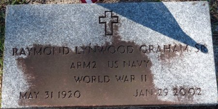 GRAHAM SR. (VETERAN WWII), RAYMOND LYNWOOD (NEW) - Wakulla County, Florida | RAYMOND LYNWOOD (NEW) GRAHAM SR. (VETERAN WWII) - Florida Gravestone Photos