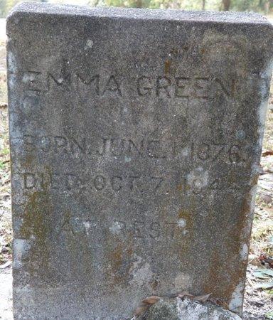 GREEN, EMMA - Wakulla County, Florida | EMMA GREEN - Florida Gravestone Photos