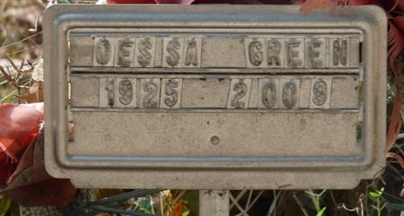 GREEN, ODESSA M - Wakulla County, Florida   ODESSA M GREEN - Florida Gravestone Photos