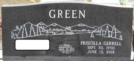 GREEN, PRISCILLA - Wakulla County, Florida | PRISCILLA GREEN - Florida Gravestone Photos