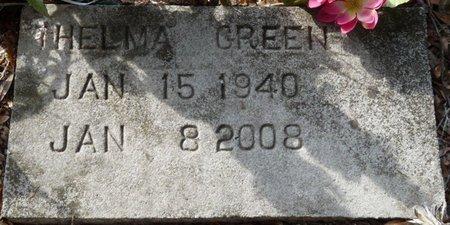 GREEN, THELMA - Wakulla County, Florida | THELMA GREEN - Florida Gravestone Photos