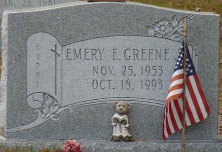 GREENE, EMERY E - Wakulla County, Florida   EMERY E GREENE - Florida Gravestone Photos