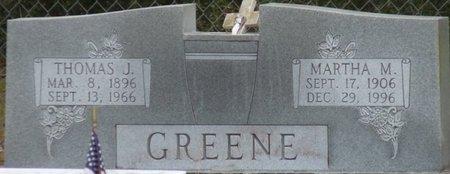 GREENE, THOMAS J - Wakulla County, Florida | THOMAS J GREENE - Florida Gravestone Photos