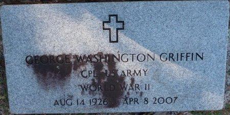 GRIFFIN (VETERAN WWII), GEORGE WASHINGTON (NEW) - Wakulla County, Florida   GEORGE WASHINGTON (NEW) GRIFFIN (VETERAN WWII) - Florida Gravestone Photos