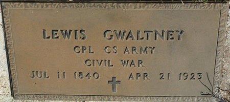 GWALTNEY (VETERAN CW), LEWIS (NEW) - Wakulla County, Florida | LEWIS (NEW) GWALTNEY (VETERAN CW) - Florida Gravestone Photos