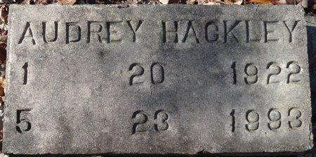 HACKLEY, AUDREY - Wakulla County, Florida   AUDREY HACKLEY - Florida Gravestone Photos