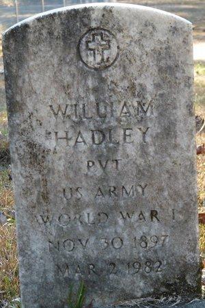 HADLEY (VETERAN WWI), WILLIAM (NEW) - Wakulla County, Florida   WILLIAM (NEW) HADLEY (VETERAN WWI) - Florida Gravestone Photos