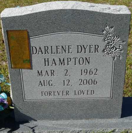 DYER HAMPTON, DARLENE - Wakulla County, Florida | DARLENE DYER HAMPTON - Florida Gravestone Photos