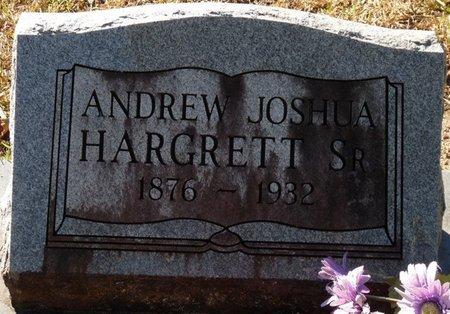 HARGRETT SR., ANDREW JOSHUA - Wakulla County, Florida | ANDREW JOSHUA HARGRETT SR. - Florida Gravestone Photos