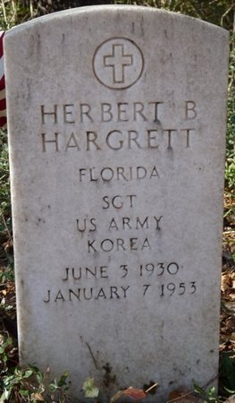 HARGRETT (VETERAN KOR), HERBERT B (NEW) - Wakulla County, Florida   HERBERT B (NEW) HARGRETT (VETERAN KOR) - Florida Gravestone Photos