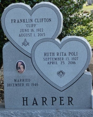 "HARPER, FRANKLIN CLIFTON ""CLIFF"" - Wakulla County, Florida 
