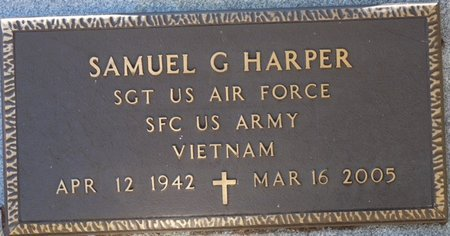 HARPER (VETERAN VIET), SAMUEL GRADY (NEW) - Wakulla County, Florida | SAMUEL GRADY (NEW) HARPER (VETERAN VIET) - Florida Gravestone Photos