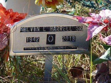 HARRELL SR., MELVIN L - Wakulla County, Florida | MELVIN L HARRELL SR. - Florida Gravestone Photos