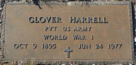 HARRELL (VETERAN WWI), GLOVER (NEW) - Wakulla County, Florida | GLOVER (NEW) HARRELL (VETERAN WWI) - Florida Gravestone Photos