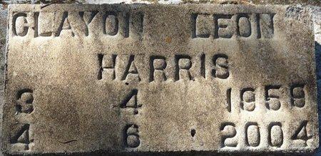 HARRIS, CLAYTON LEON - Wakulla County, Florida | CLAYTON LEON HARRIS - Florida Gravestone Photos