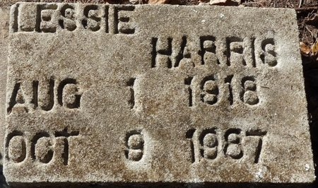HARRIS, LESSIE - Wakulla County, Florida | LESSIE HARRIS - Florida Gravestone Photos