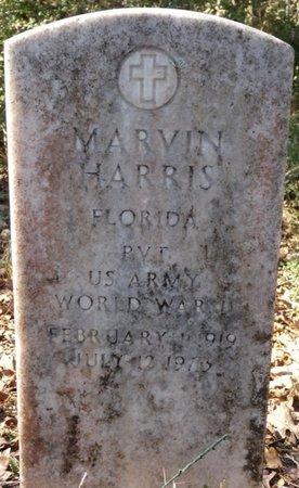 HARRIS (VETERAN WWII), MARVIN (NEW) - Wakulla County, Florida   MARVIN (NEW) HARRIS (VETERAN WWII) - Florida Gravestone Photos
