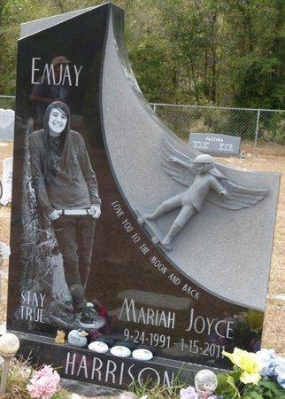 """HARRISON, MARIAH JOYCE """"EMJAY"""" - Wakulla County, Florida   MARIAH JOYCE """"EMJAY"""" HARRISON - Florida Gravestone Photos"""