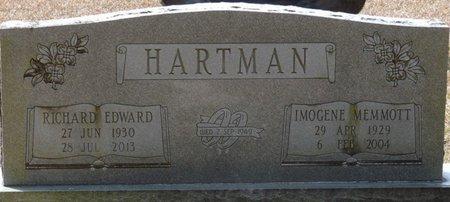 MEMMOTT HARTMAN, IMOGENE - Wakulla County, Florida | IMOGENE MEMMOTT HARTMAN - Florida Gravestone Photos