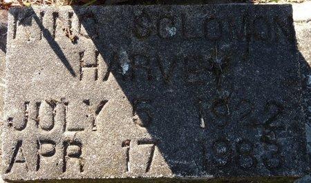 HARVEY, KING SOLOMON - Wakulla County, Florida | KING SOLOMON HARVEY - Florida Gravestone Photos