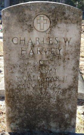 HARVEY (VETERAN WWII), CHARLES W (NEW) - Wakulla County, Florida | CHARLES W (NEW) HARVEY (VETERAN WWII) - Florida Gravestone Photos